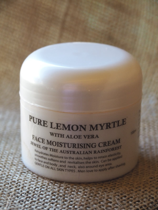Perry's Lemon Myrtle Face Moisturiser