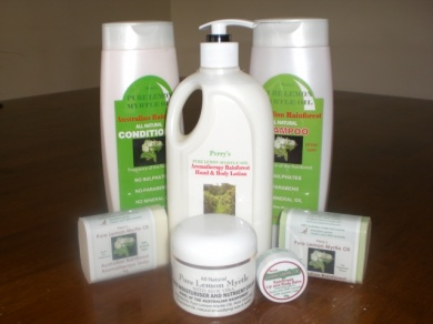 Perry's Lemon Myrtle Gift Pack 3