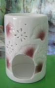 Essential Oil Burner (Pink Shell)